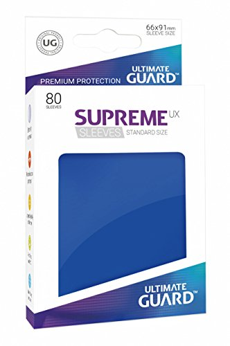 Ultimate Guard ugd010541–Supreme UX Sleeves, tamaño estándar, Color Azul