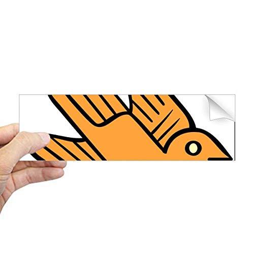 DIYthinker Indian Abstract Art Tekenen Vogels Rechthoek Bumper Sticker Notebook Window Decal