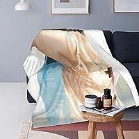 """La Meack あらがき ゆい 毛布と毛布(縦)、空調毛布、空調はピリング防止フランネルでできており、より快適で暖かいです。 洗濯機と手洗い、速乾性、お手入れが簡単、耐久性、漂白剤を使用しないでください。60""""X50"""""""