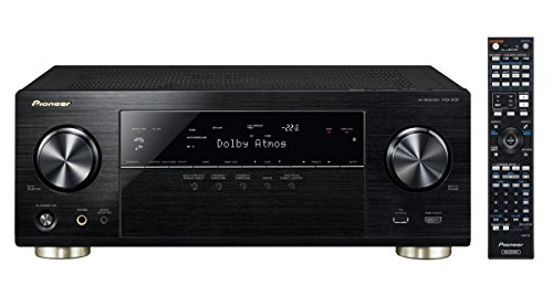 Pioneer VSX-930-K 7.2 Netzwerk-Mehrkanal Receiver (165 Watt Pro Kanal, Dolby Atmos, WiFi, Bluetooth, Ultra-HD Video Scaler, HDCP 2.2, App Steuerung, Airplay, DLNA, Spotify Connect) schwarz