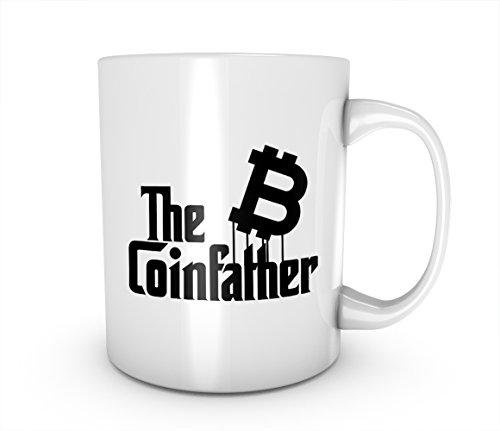 The Coinfather Bitcoin Cryptocurrency Blockchain Crypto Btc Keramik Tasse Kaffee Tee Becher Mug