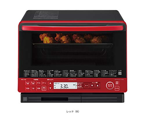 日立 スチームオーブンレンジ 31L レッドHITACHI 過熱水蒸気オーブンレンジ ヘルシーシェフ MRO-VS8-R