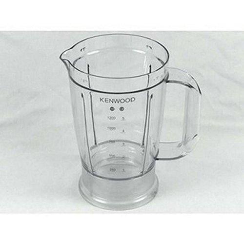 Vaso de plástico para robot de cocina Kenwood FPP220, FPP221, FPP222, FPP223, FPP224, FPP225.