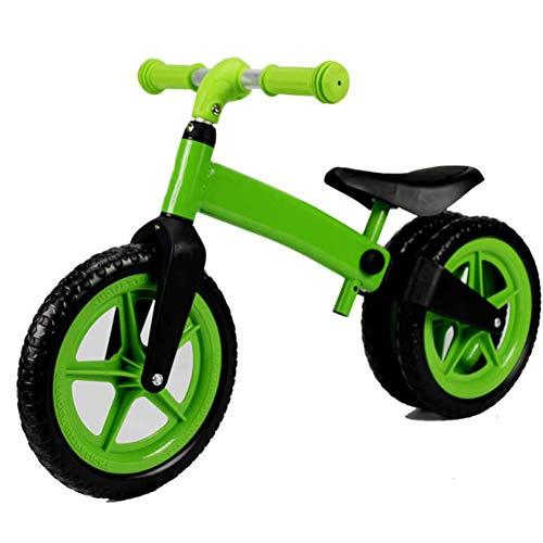 ZXL Bici per Bambini, Walker per Bambini Bici per Bambini di 2 Anni, Triciclo a Tre Ruote per Bambini Bicicletta Passeggino Regalo di Compleanno Scelta,Verde