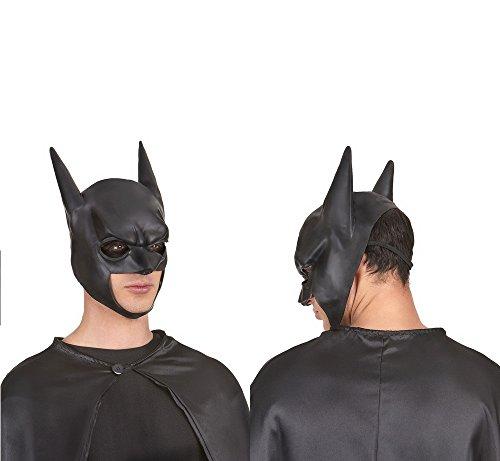 Masque Batman Latex Adulte - Soirée Accessoire Halloween Déguisement - 676