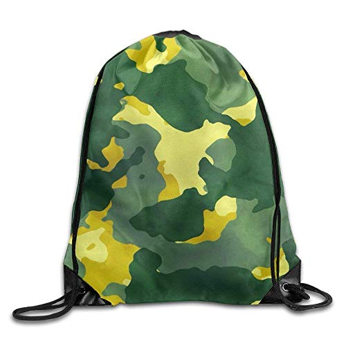 uykjuykj Sac à Dos Pliable 100% Polyester Motif Camouflage 40 x 35 cm