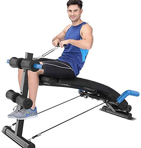 LDM Sit Up Bench verstellbar, Crunch Abdominal-Trainingsgerät, Home Ab Workout-Ausrüstung Indoor Workout-Ausrüstung