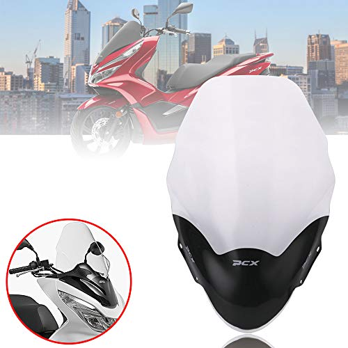 Motorcycle PCX125 150 windscreen windshield windscreens wind board deflectors for Honda pcx 125 150 2013-2017