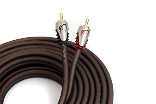 KnuKonceptz Klarity RCA Cable 2 Channel RCA Interconnect 3 Feet (1 Meter)