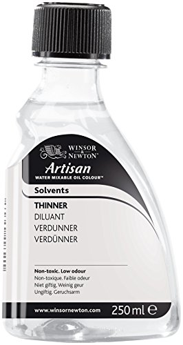 Winsor & Newton Artisan Water Mixable Mediums Thinner, 250ml