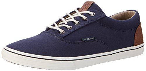 JACK & JONES Herren Jfwvision Mixed Navy Blazer Low-Top, Blau (Navy Blazer), 44 EU (Herstellergröße: 10 UK)