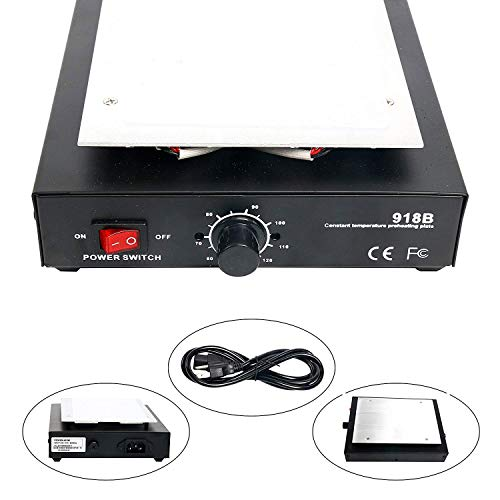 Mini LCD Touch Screen Repair Separator Machine Heating Plate Compatible for iPhone Samsung HTC