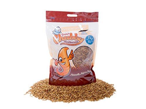 Vers de farine séchés par Chubby Mealworms - 1kg.