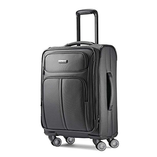Samsonite Leverage LTE SoftSide Luggage, Charcoal, Carry-On