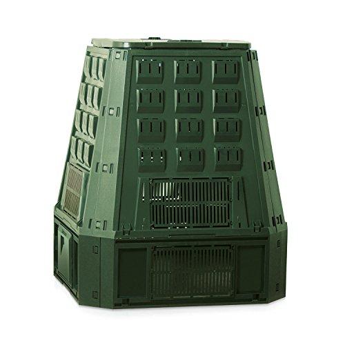 Prosperplast 19551 Kompostierer IKST600Z 600 Liter, grün