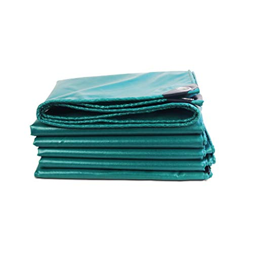 Yunyisujiao Le Tissu imperméable extérieur Vert foncé est imperméable et antipoussière approprié à la Construction de Tente de Transport de Camion (Color : 2X3M)