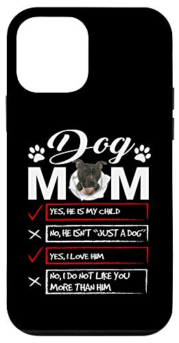 iPhone 12 mini Staffordshire Bull Terrier Dog Mom - Mother's Day Gift Case