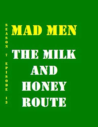 Mad Men The Milk and Honey Route Quotes Library Decorative Birthday Gift ( 110 Page Big Size ) Notebook Collection A decorative book for coffee ... design styling: Tv Show Friends Notebook
