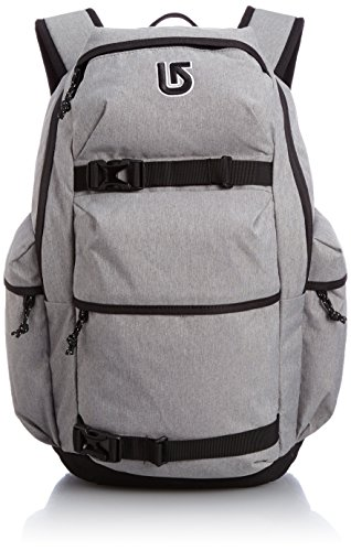 Burton Daypack Kilo Pack - Mochila, Color Gris, Talla 44.5 x 30 x 15 cm