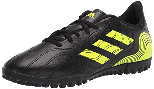 adidas Men's Copa Sense.4 Turf Soccer Shoe, Black/Solar...