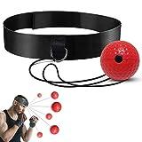Ballon d'entraînement de boxe Reflex Ball, sport de boxe, adapté aux adultes / enfants, meilleur équipement de boxe pour la coordination œil-main, équipement d'entraînement à domicile