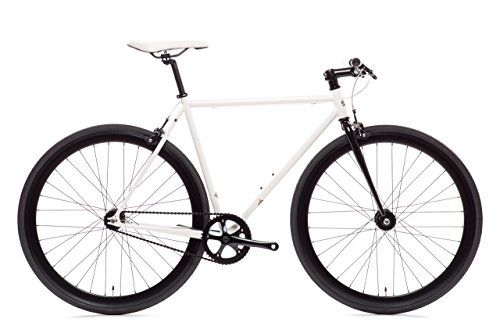 Find Discount Ghoul Core-Line State Bicycle | Fixie Single Sped Fixed Gear Bike - Ghoul (White & Bla...