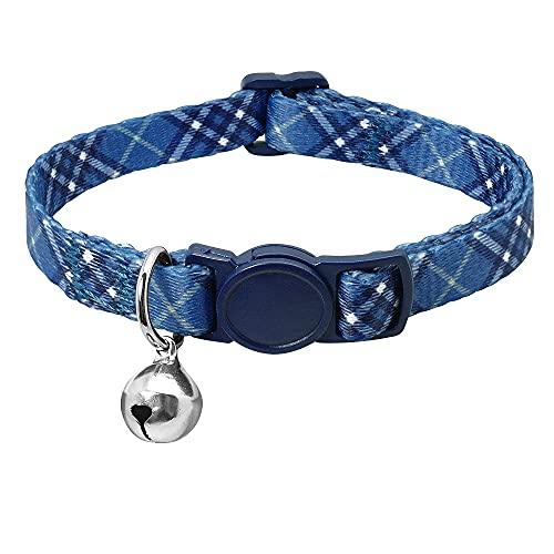 Cuello De Gato Ajustable, para Perros Gatos Productos para Mascotas Pequeño Cachorro Collars Bell Pet Pet Collar,6,18~27cm