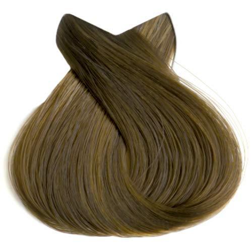 Tahe Organic Care Dauerhafter Farbstoff Haar-Farbe, Nein.7.34 Medium Golden Copper Blonde, 100 ml