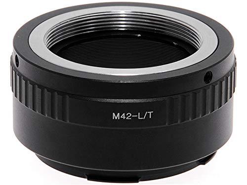 Adaptador para objetivos M42 en cámaras sin espejo Leica T TL SL CL. Adaptador.
