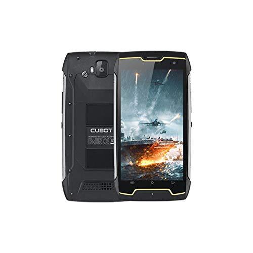 CUBOT King Kong CS - Smartphone de 5.0  HD, 2GB y 16GB, Cámara de 13 MP, Batería de 4000mAh, Android 10, Procesador Mediatek MT6580, Negro