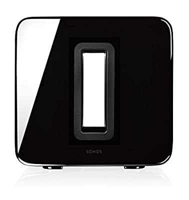 SONOS SUB Wireless Subwoofer, Gloss Black by Sonos
