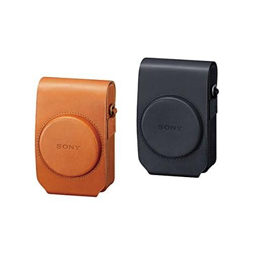 Sony LCS-RXG Custodia Morbida in Pelle per Fotocamere serie RX100, Marrone