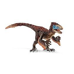 10. Schleich Dinosaurs Utahraptor Educational Figurine