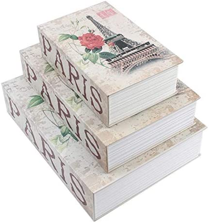 Kentop Geldkassette Sicherheitsbox Design mit britischer Flagge versteckte Spardose Camouflage Seiten aus echtem Papier