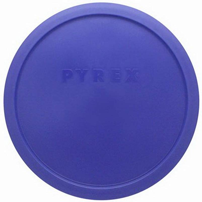 Pyrex 7403 PC Blue 10 Cup Sculptured Mixing Bowl Lid Lid Only Bowl Not Included