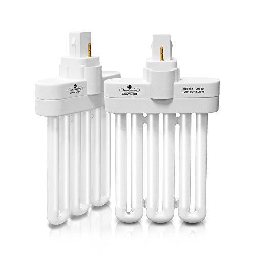 AeroGarden 100340 Fluorescent Grow Light Bulb (2-Pack)