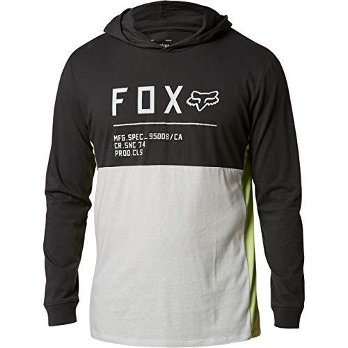 Fox Herren Hoodie Non Stop Hooded LS Knit, Größe:S, Farben:blk vin
