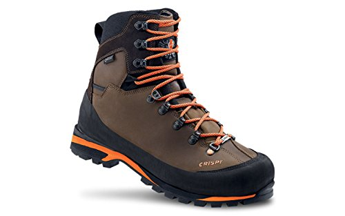 CRISPI SPORT , Herren Jagdstiefel Braun Brown/Orange, Braun - Brown/Orange - Größe: 43 EU