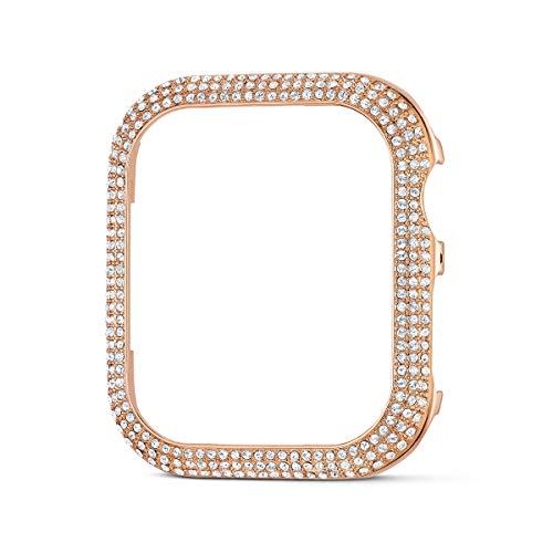Swarovski Funda compatible con Apple Watch ® 40 mm Sparkling, tono oro rosa