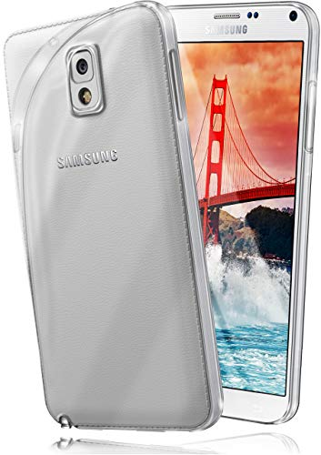 MoEx® Ultra-Clear Case [Vollständig Transparent] passend für Samsung Galaxy Note 3 | rutschfest & extrem dünn - Fast unsichtbar, Klar