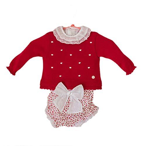 DOLCE PETIT - Jersey BEBÉ bebé-niños Color: Rojo Talla: 12M
