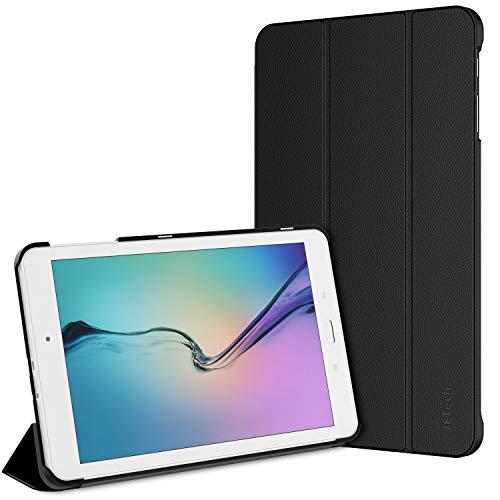 JETech Custodia per Samsung Galaxy Tab E 9,6, Cover con Funzione di Supporto, Nero