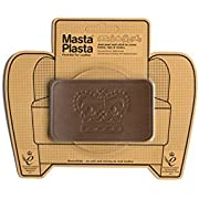 MastaPlasta Self-Adhesive Patch for Leather and Vinyl Repair, Crown, Tan - 4 x 2.4 Inch - Multiple Colors Available