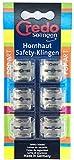 CREDO Klingen Hornhaut-Safetyhobel, 6 Stück im Blister -