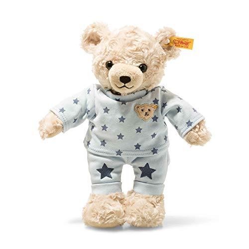 Steiff 109881 Teddybär, hellblond/blau, 27 cm