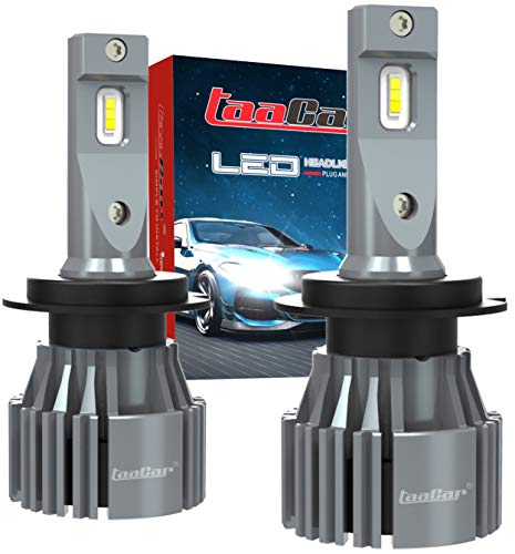 Ampoule H7 LED Canbus 12000LM 6500K, Garantie 3 Ans. TAACAR.
