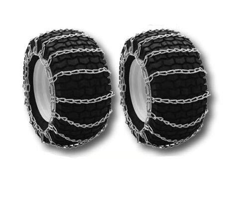 OakTen Set of Two Tire Chain Fits 4.10x3.50x6, 12x3.25, 12x4x6, 12.25x3.50, 4.10x3.50x8