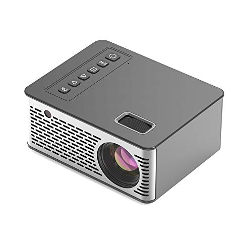 """Limerenc UC26 Video Projector,4"""" Mini Pocket Projector 1080P Full HD 500 Lux 120"""" LCD Video Projector for Home,Business,Outdoor . Best Gift. (4"""")"""