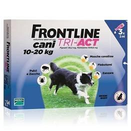 FRONTLINE TRI-ACT*3PIP 2ML PER CANI DA 10-20 KG
