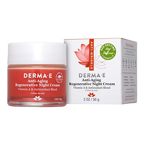 DERMA E Anti-Aging Regenerative Night Cream, 2 oz